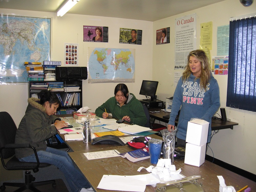 A WDEC Tutor and Her Students