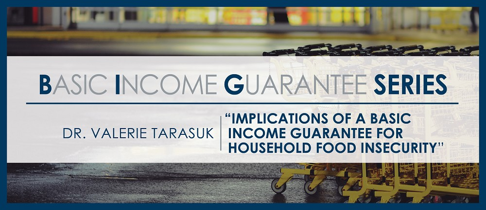 Basic Income Guarantee for Food Insecurity
