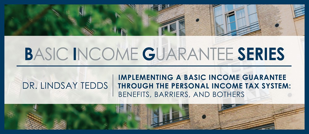 Basic Income Guarantee through the Personal Tax System